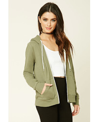Classic zip up hoodie medium 814490