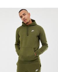 Descubrir Fontanero Monasterio  Nike Pullover Hoodie With Swoosh Logo In Green 804346 395, $56   Asos    Lookastic