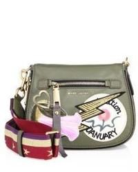 Marc Jacobs Patchwork Saddle Bag