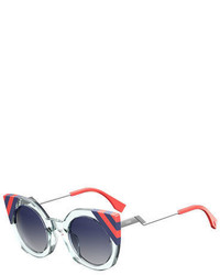 Fendi Round Cat Eye Sunglasses