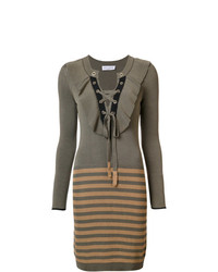 Sonia Rykiel Knitted Drawstring Dress
