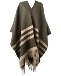 Dsquared2 Striped Poncho