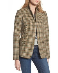 Regent houndstooth plaid blazer medium 4913505