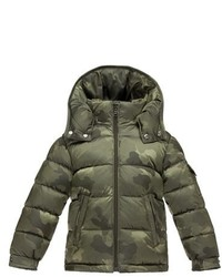 Moncler Maya Shiny Water Resistant Down Jacket