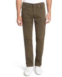 Fidelity Denim Jimmy Havana Slim Straight Leg Twill Pants