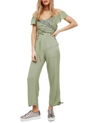 In the mot off the shoulder jumpsuit medium 4014957