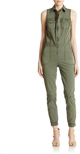 f85f0c856d2 ... Olive Jumpsuits GUESS Military Cargo Jumpsuit