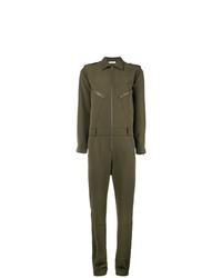 P.A.R.O.S.H. Slim Fit Zipped Jumpsuit