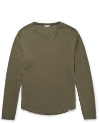 Orlebar Brown Michl Waffle Knit Cotton T Shirt