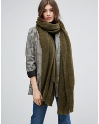 ASOS DESIGN Asos Oversized Long Knit Scarf