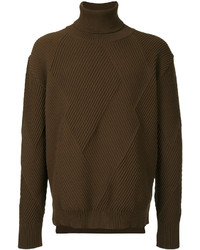 Olive Knit Turtleneck