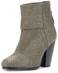 Rag & Bone Classic Newbury Leather Bootie Iron