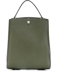 Valextra Convertible Boxy Backpack