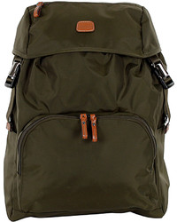 Bric's Olive X Bag Excursion Backpack