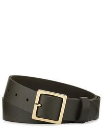 Classic leather square belt medium 4381025