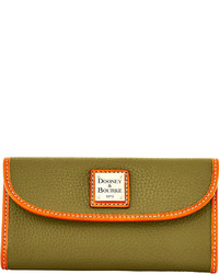Dooney bourke pebble grain continental clutch medium 318237