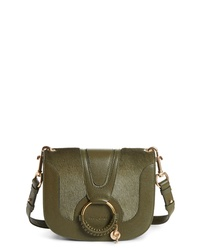 See by Chloe Hana Leather Genuine Calf Hair Shoulder Bag