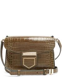 Givenchy Nobile Mini Crocodile Effect Cross Body Bag