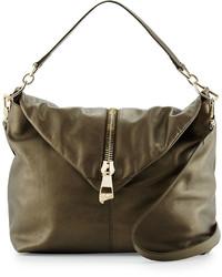 Missoni Pearl Leather Shoulder Bag Olive