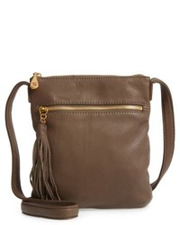 Sarah leather crossbody bag green medium 5264649