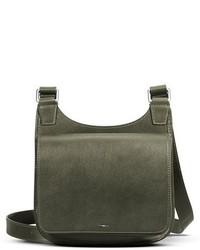 Shinola Small Field Leather Crossbody Bag Brown