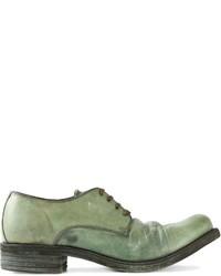 A Diciannoveventitre Cavallo Distressed Derby Shoes
