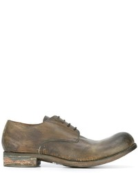 A Diciannoveventitre Worn Out Effect Derbies