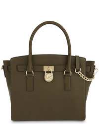 MICHAEL Michael Kors Michl Michl Kors Hamilton Eastwest Large Grained Leather Tote