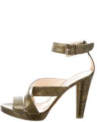 Leather multistrap sandals medium 1041457
