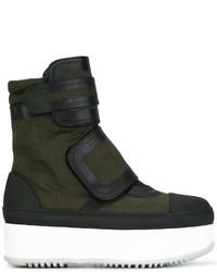 Marni Hi Top Sneaker Boots
