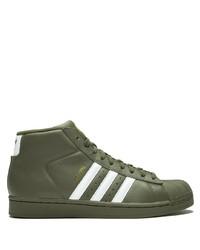 adidas Pro Model Hi Top Sneakers