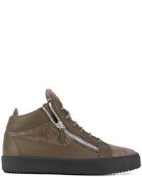 Giuseppe Zanotti Design Taz Hi Top Sneakers