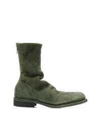 Guidi Distressed Military Boots