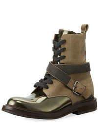 Leather hiking boot with mon medium 4472413