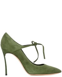 Casadei Stiletto Heel Tie String Pumps