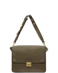 Fendi Khaki Large Kan U Bag