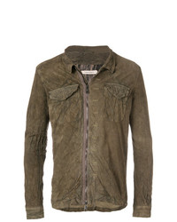 Giorgio Brato Textured Shirt Jacket