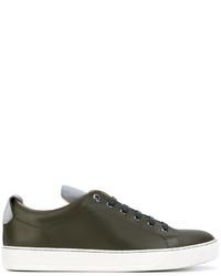 Lanvin Toe Capped Sneakers