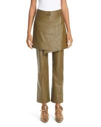 Sies Marjan Judy Leather Apron Pants