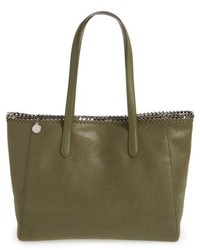 Falabella shaggy deer faux leather tote medium 5262340