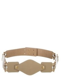 Saint Laurent Yves Patent Waist Belt