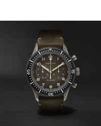 Zenith Pilot Cronometro Tipo Cp 2 Automatic 43mm Stainless Steel And Nubuck Watch Ref No 11224040521c773