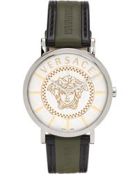 Versace Silver Essential Watch