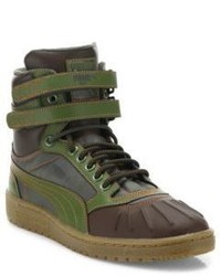Puma Sky Ii Hi Duck Leather Boots