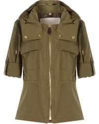 Bartleigh cotton blend parka jacket medium 814356