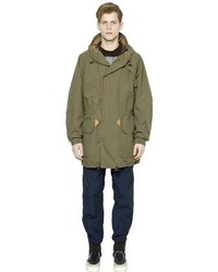 Cotton nylon parka medium 449435