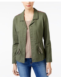 American Rag Embroidered Utility Jacket Only At Macys