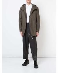 Yohji Yamamoto Hooded Hybrid Blazer