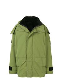 Yves Salomon Army Hooded Rain Jacket