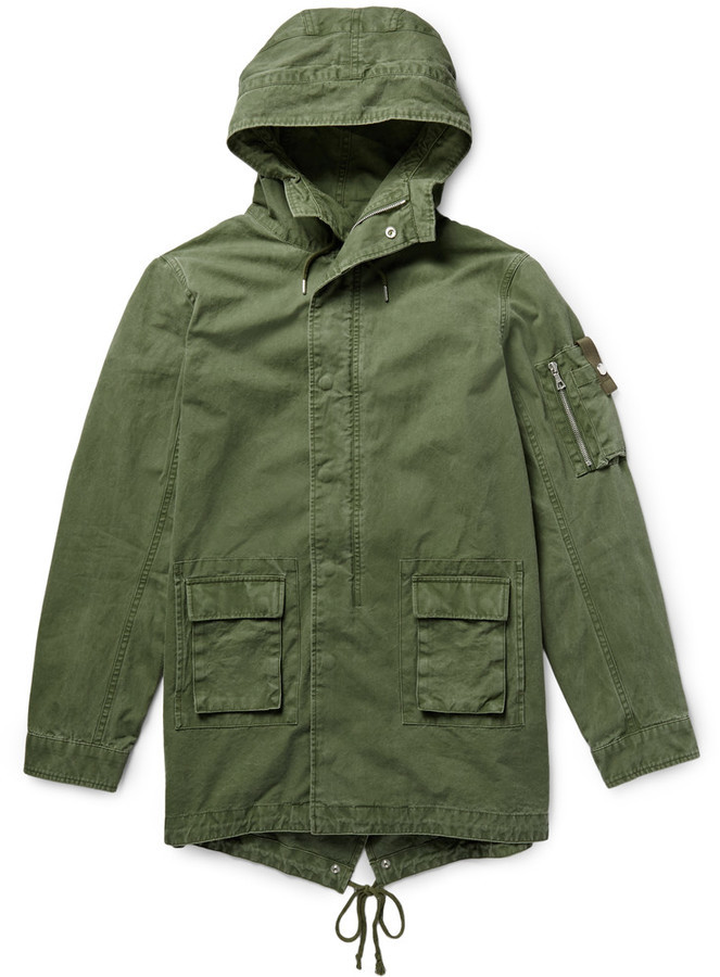 Canvas Fishtail Parka